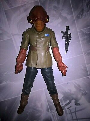 STAR WARS THE BLACK SERIES TRU EXCLUSIVE 6in TLJ ADMIRAL ACKBAR ACTION FIGURE