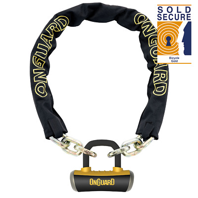 OnGuard Mastiff 8019L Chain Lock 180cm x 10mm