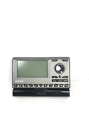 Sirius XM Sportster 3 SP3 Portable Satellite Radio With Dock