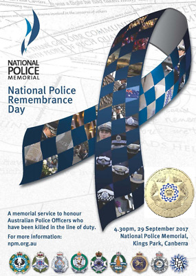2019 Nat Pol $2 Unc Coin - Commemorating Police Service On 28 Sept 2019 =