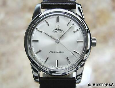 Omega Seamaster 1960s Mens Swiss 34mm Calibre 552 Vintage Automatic Watch AS74