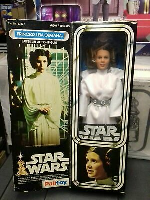 "Star Wars Vintage Palitoy Princess Leia Organa 12"" Boxed Complete"