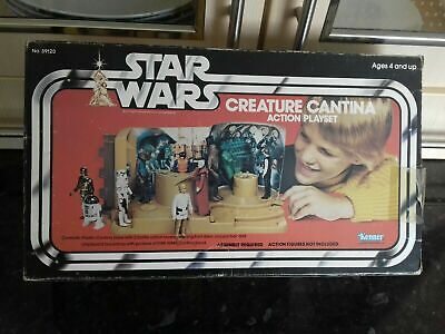 Star Wars Vintage Creature Cantina Playset Palitoy Kenner Opened Sealed Baggies
