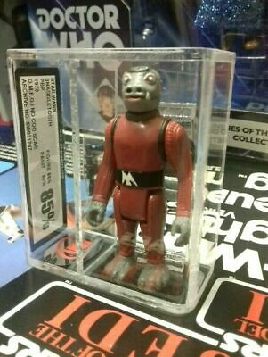 Vintage Star Wars Figure Red Snaggletooth ukg 85% Not Afa PBP SCARRED COO 85/85
