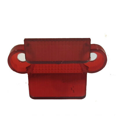 """Williams Bally Lane Guide 1-3/4"""" Double Side Red Translucent - 03-8204-9"""