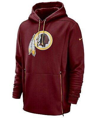 official photos 40df8 3861b $125 NIKE WASHINGTON Redskins Sideline Player Therma Hoodie Pullover Men's  Large