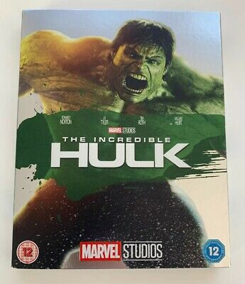 Marvel Phase 1 The Incredible Hulk Blu-ray With Sleeve Slip Case O Ring New Mint