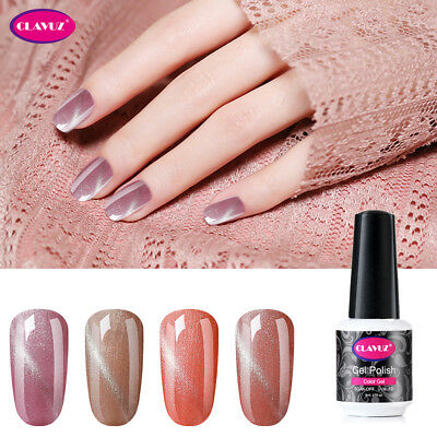 CLAVUZ 3D UV LED Soak Off Esmalte Semipermanente de Uñas en Gel Manicura 8ML