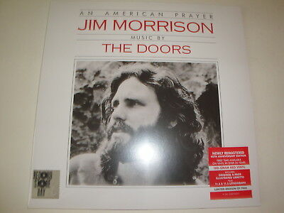 Jim Morrison & The Doors: An American Prayer LP, RED Vinyl + Litho + Libretto
