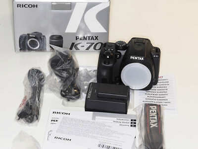 Pentax K K-70 24.2MP Digital SLR Camera - Black (Body Only)