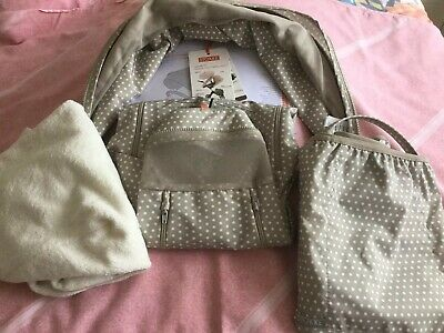 Stokke Summer Kit Beige And White Spotted ,Excellent Con,Ex Display ,No Parasol.