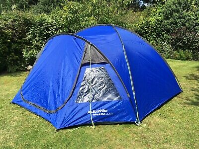 Eurohike Cairns 4 Man Blue DLX Dome Tent