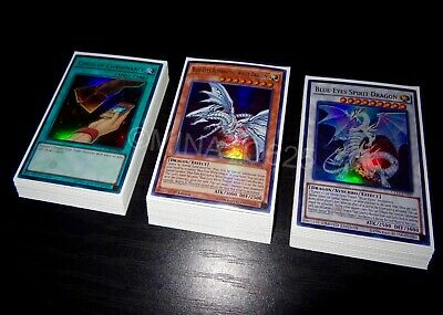 Yugioh Complete Guardragon Blue-Eyes White Dragon Deck + Sleeves! Crystal Wing