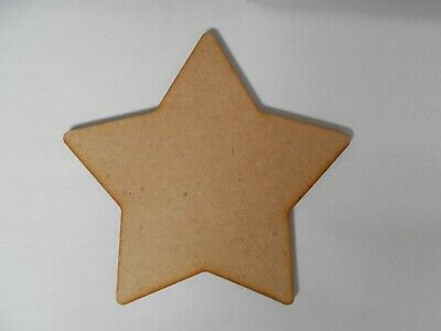 Star, Large wooden 60cm, 6mm thick x1, no hole.