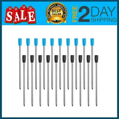 2.75 Inch Ballpoint Pen Refills For Diamond Crystal Stylus Pens And With Black
