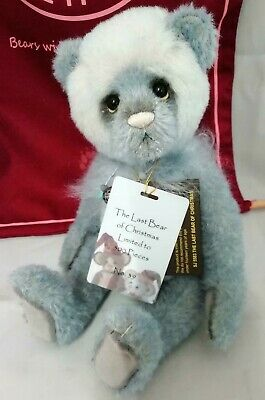 SPECIAL OFFER Charlie Bears Mohair THE LAST BEAR OF CHRISTMAS 39/500 RRP £180