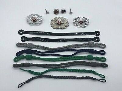 Vintage German Hat Insignia Change Kit 15 Pieces, Officer or Enlisted UNISSUED