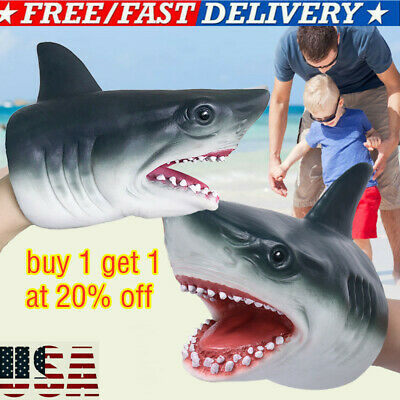 Schylling Shark Hand Puppet SHP US FAST-SHIPPING!