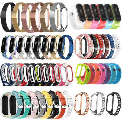 Various Luxe Wrist Band Replacement Watch Strap Bracelet For Xiaomi Mi Band 4 3