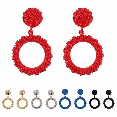 Fashion Women Punk Trendy Statement Geometric Ear studs Dangle Drop Earing Boho