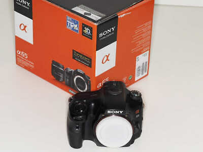Sony Alpha SLT-A65V 24.3MP Digital SLR Camera - Black (Body only)