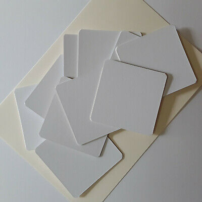 10 coaster blanks square mountboard decopatch stamping paint craft gifts