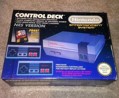 Boxed Nintendo NES Console With Controller