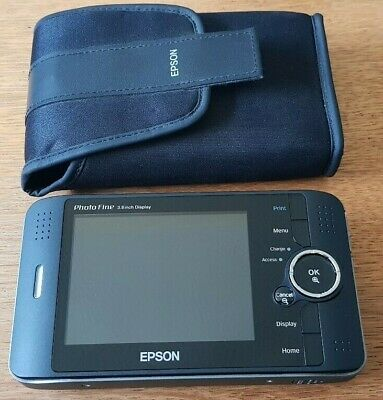 Epson P-4000 Photo (Multimedia) Storage Viewer (80gb HDD) - Used - NO CHARGER