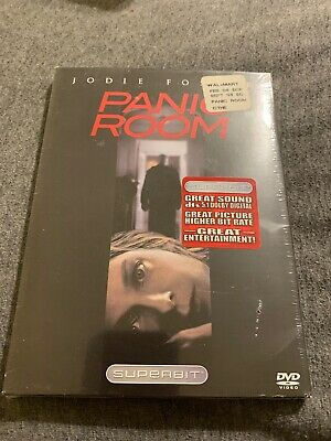 Panic Room (DVD, 2002, Superbit Collection) - JODIE FOSTER, FOREST WHITAKER