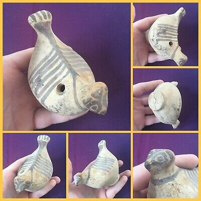Rare ancient Indus Valley pottery bird/chicken