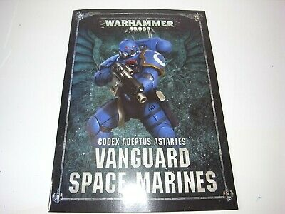 Gw 40K Codex Vanguard Space Marines. Black 303