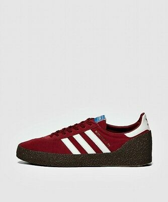 Mens Adidas Originals Montreal 76 Maroon/White Trainers (CMF5) RRP £74.99