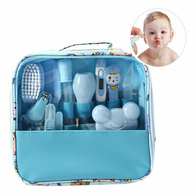 Multifunction Baby Healthcare Kit Newborn Baby Grooming Set Thermometer Clipper