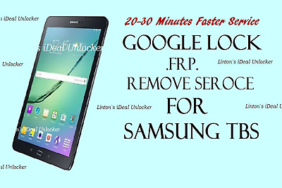 Google FRP Lock Removal Service for Samsung Galaxy TAB