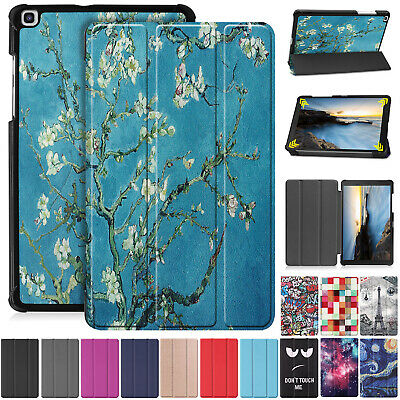 For Samsung Tab A 8.0 SM-T290 T295 2019 Case Luxury Stand Leather Folding Cover