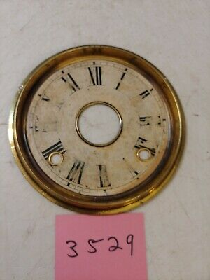 Antique Welch Ginger Bread / Parlor Clock Dial