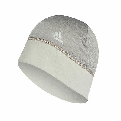 adidas Climawarm Sports Running Training Fleece Womens Beanie Hat Grey