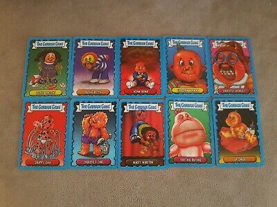 Topps - The Garbage Gang 2018 Lenticular, Animated full set all x 10 cards new