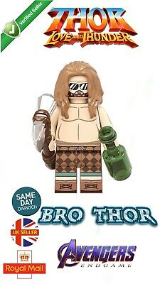 Mini Figure King Thor New Asgard Fat Thor Avengers Endgame Marvel UK Seller