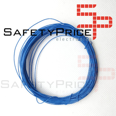 11 metros AWG30 AZUL Cable WRAPPING WIRE COLOR AZUL electronica