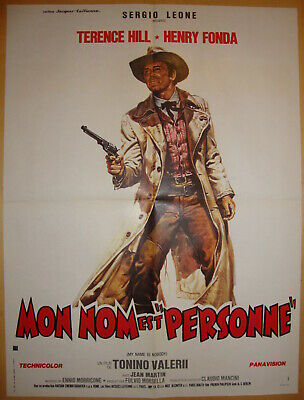 My Name is Nobody-Western-H.Fonda-T.Hill-French med Style A (24x31 inch)