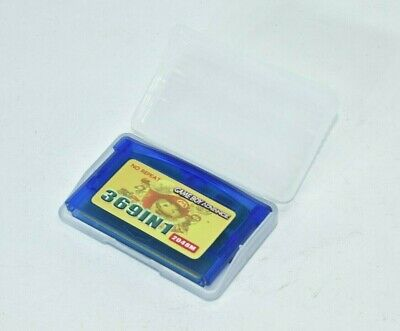369 in 1 Game Boy Advance GBA With Case