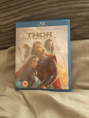 Thor - The Dark World blu ray