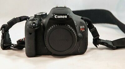 Canon EOS Rebel T3i / EOS 600D 18.0MP Digital SLR Camera Body Only Not Working