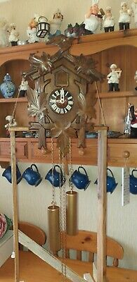 Large 8 day German Cuckoo clock In Good Working Order
