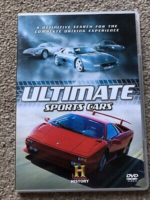 History Ultimate Sports Cars Dvd