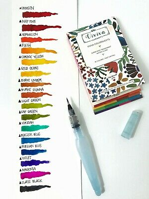 ✮ Viviva Color-Sheets Water-colours The SKETCHER Set with Waterbrush Aquarelle