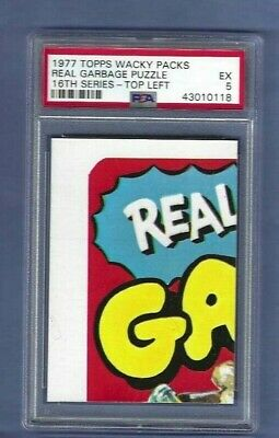 Wacky Packages 1977 Series 16 Real Garbage Puzzle Psa 5