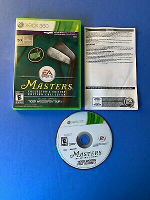 Tiger Woods PGA Tour 13 -- Masters Collector's Edition Microsoft Xbox 360