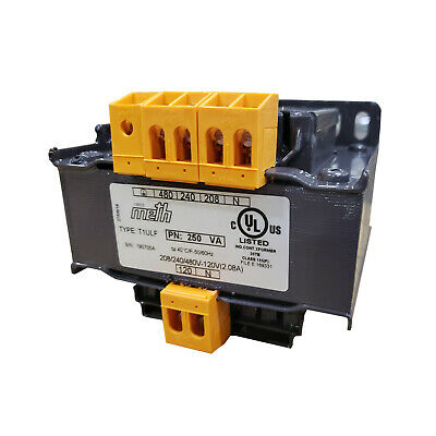 Multi Voltage Control Transformer 250VA T1ULF Panel Mount Single Phase UL Listed